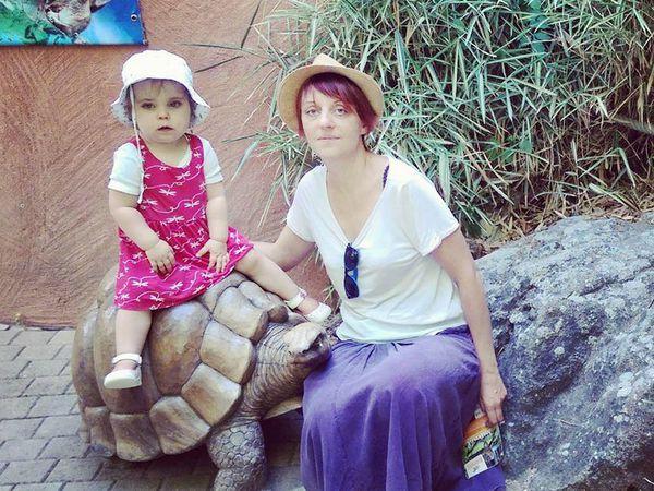 Et sur le dos de la tortue, Adèle qui n'a même pas peur de la lionne, rentrera-elle ainsi, sur carapace, à la maison ?...