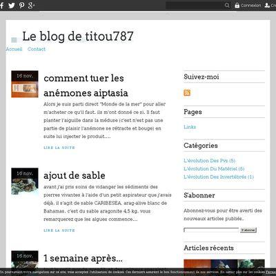 Le blog de titou787