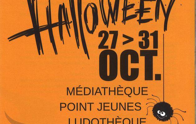 Pornichet -  Manifestation annulée - Médiathèque et Ludothèque : Frissons garantis pour Halloween, du 27 au 31 octobre 2020