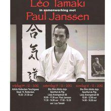Léo Tamaki à Amsterdam et Rotterdam, du 14 au 16 décembre