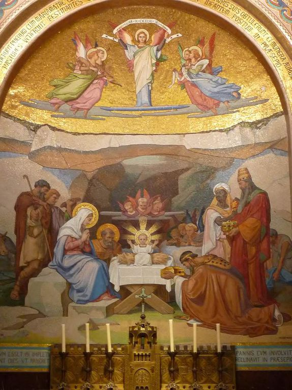 Photos du pèlerinage de mai à Lourdes