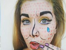 Maquillage Pop Art