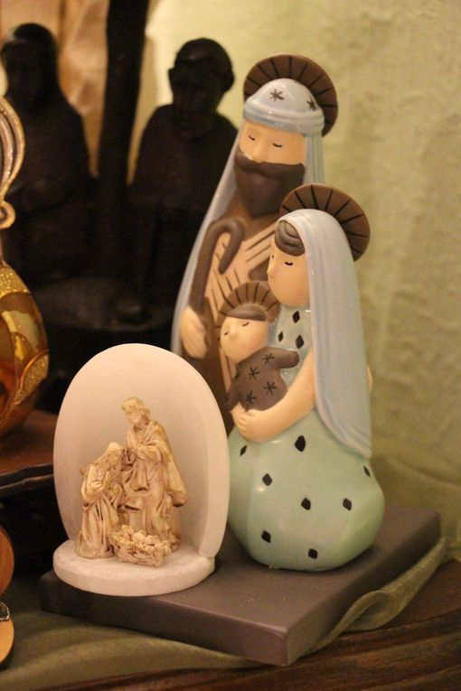 Collection et exposition de décorations de Noël