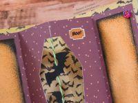 Carte - Carterie - Halloween - 2021 - Scan N Cut - SDX - CM - SDX1200 - Canvas Workspace - Foil Quill - Cercueil - Chauve Souris - Shaker - Shaker Card - Strass