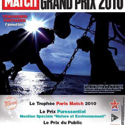 Grand prix du photoreportage étudiant 2010 de Paris Match