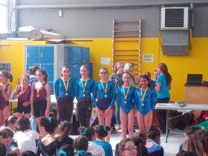 Des championnes académiques de gymnastique!!!