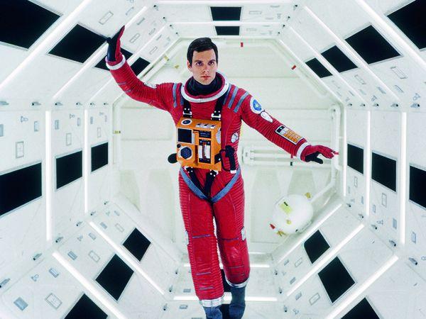 Sur le tournage de 2001: A Space Odyssey