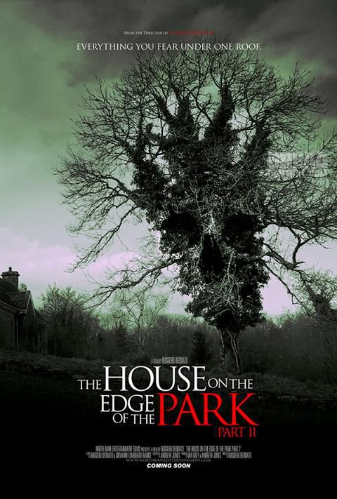"""affiche du film """"the house on the edge of the park"""""""