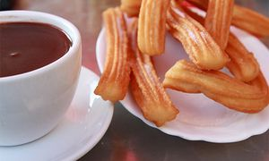 Trampantojo: Chocolate con churros