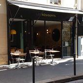 Les Résidents (Paris 17) : créativité et beaux produits à l'honneur (màj) - Restos sur le Grill - Blog critique des restaurants de Paris indépendant !