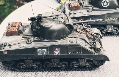 Sherman US... francisés  (Collection-presse - 1/73 - par Patrick G)
