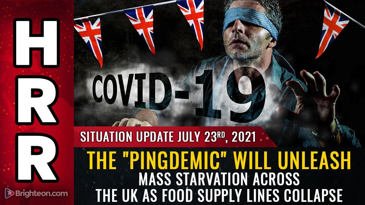 """El control """"Pingdemic"""": el gobierno británico ordena a los trabajadores del sector alimentario que se pongan en cuarentena... la cadena de suministro de alimentos """"en riesgo de colapso"""""""