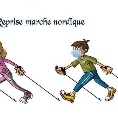 Reprise marche nordique