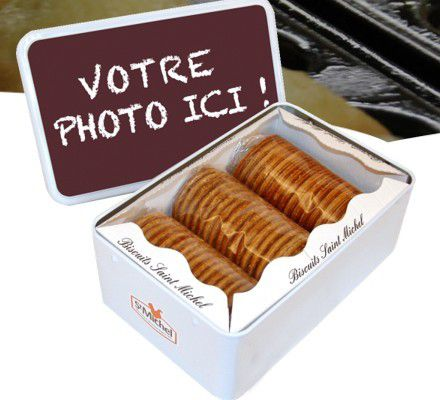 Packaging : Personnalisation de la Boite de gateaux St Michel