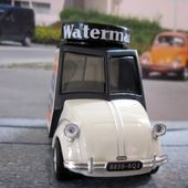 VEHICULE PUBLICITAIRE DE ROVIN ENCRE WATERMAN IXO 1/43 - car-collector.net