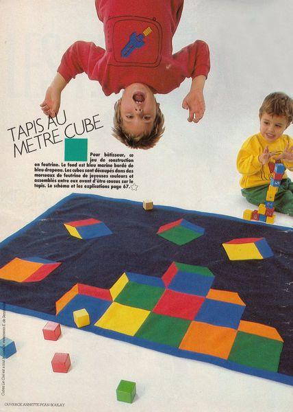 Des cubes et un labyrinthe