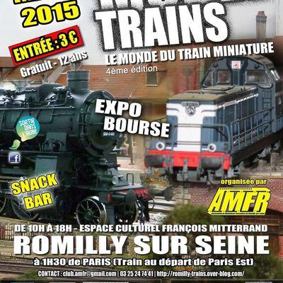 l'exposition de modélisme ferroviaire de Romilly-sur-Seine