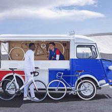 Citroën type H : Citroën et le Coq Sportif s'associent pour les 70 ans du type H