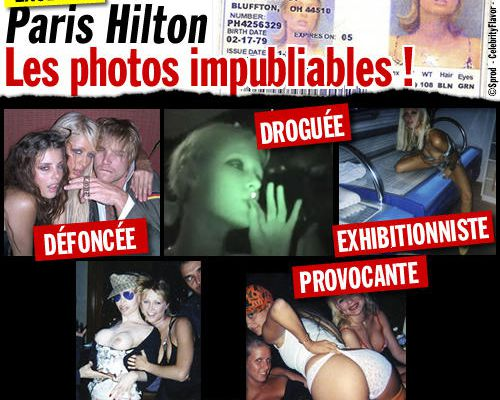 EXCLU : Paris Hilton, les photos impubliables !