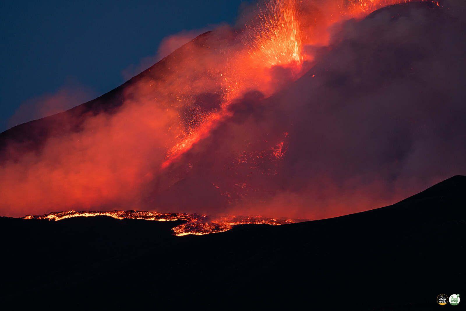 Etna SEC - paroxysm 08.29.2021 - photo EtnaWalk