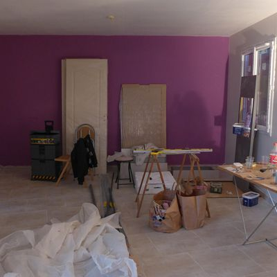 Suite des travaux du week-end