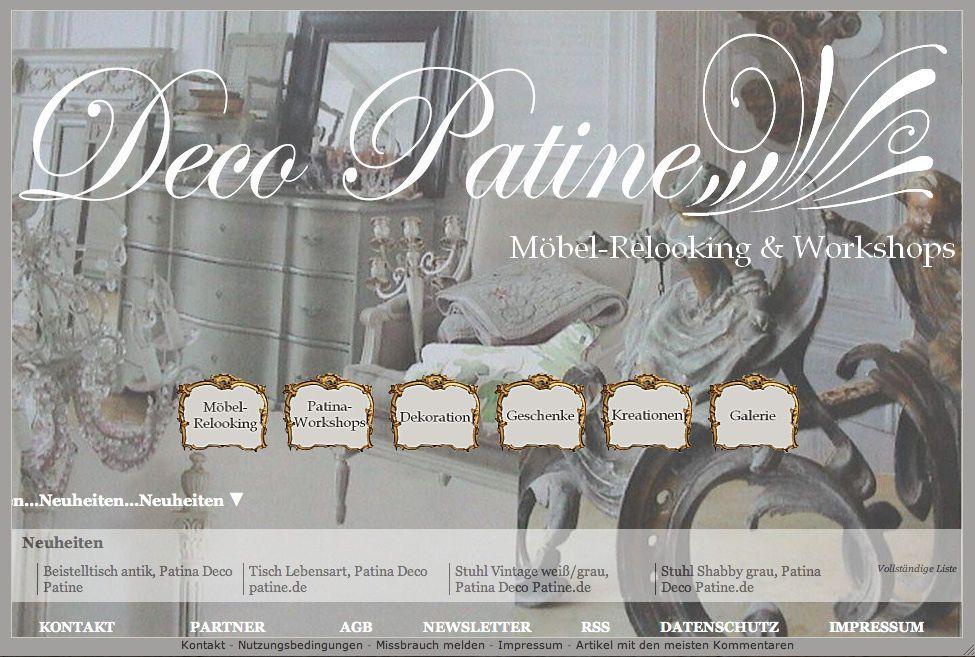 Aus alt wird neu mit antik Patina belebt!