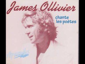 James Ollivier, un chanteur et musicien français qui a mis en musique et interprété les textes de nombreux poètes français