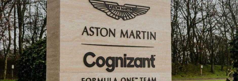 Aston Martin dévoile son nouveau sponsor-titre