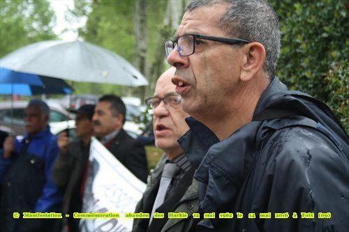 Photos, vidéos de la Manifestation - Commémoration Abandon des Harkis 12 mai 2016 - le  14 mai 2016 à Foix (09)