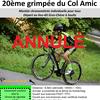2020 VCS: Annulation grimpée du Col Amic