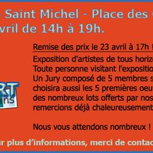 EXPOSITION - CONCOURS D'ART Du 8 au 23 avril de 14h - Chapelle Saint Michel - Avignon.