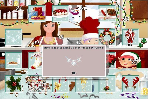 Décorations de Noël, gifs animés, père noël, bougies, calendrier de l'avent, cadeaux, couronnes,...