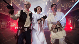Mythbusters special star wars en ce moment sur discovery channel
