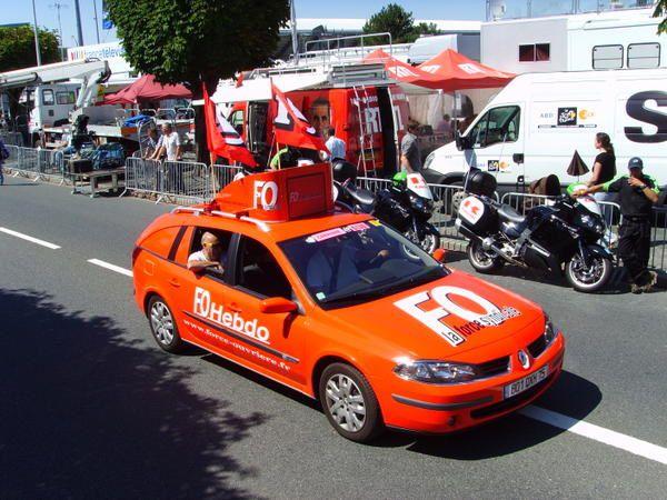 Juillet 2008 : Arrivée du Tour de France 2008 à Châteauroux