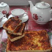 Tarte au lait ribot et fève tonka - Les petits plats de Béa