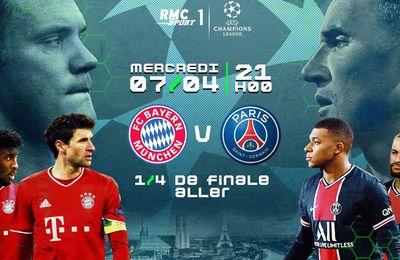 Bayern Munich / Paris SG : Sur quelle chaîne suivre la rencontre mercredi ?