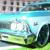 CHEVROLET CHEVELLE SS 1966 MAISTO 1/24 - car-collector.net