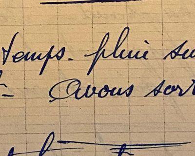 Lundi 18 juin 1951 - la lieuse