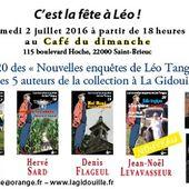 Rendez-vous à Saint-Brieuc avec 5 auteurs de Léo Tanguy - Le blog de Claude LE NOCHER