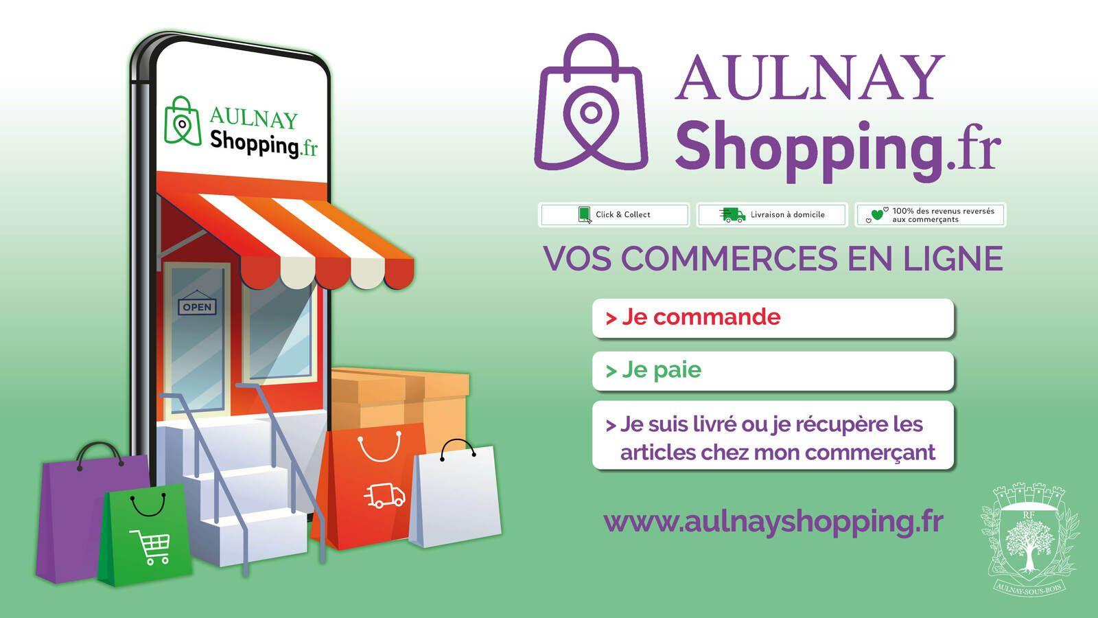 Soutenez les commerces à Aulnay-sous-Bois en cliquant sur Aulnay Shopping !
