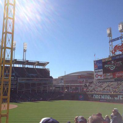 Baseball - Progressive Field - Cleveland Indians