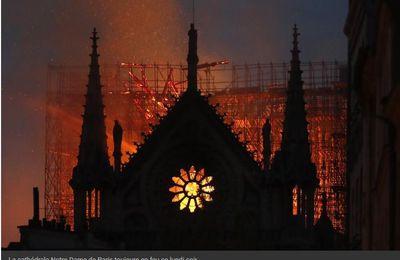 Notre Dame de Paris a brûlé