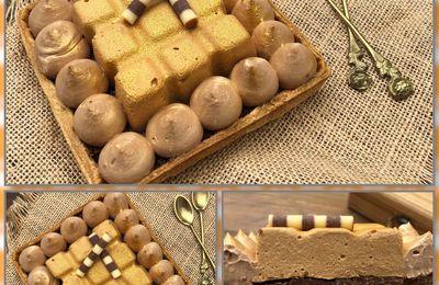 Tartelettes café ☕️ et chocolat 🍫