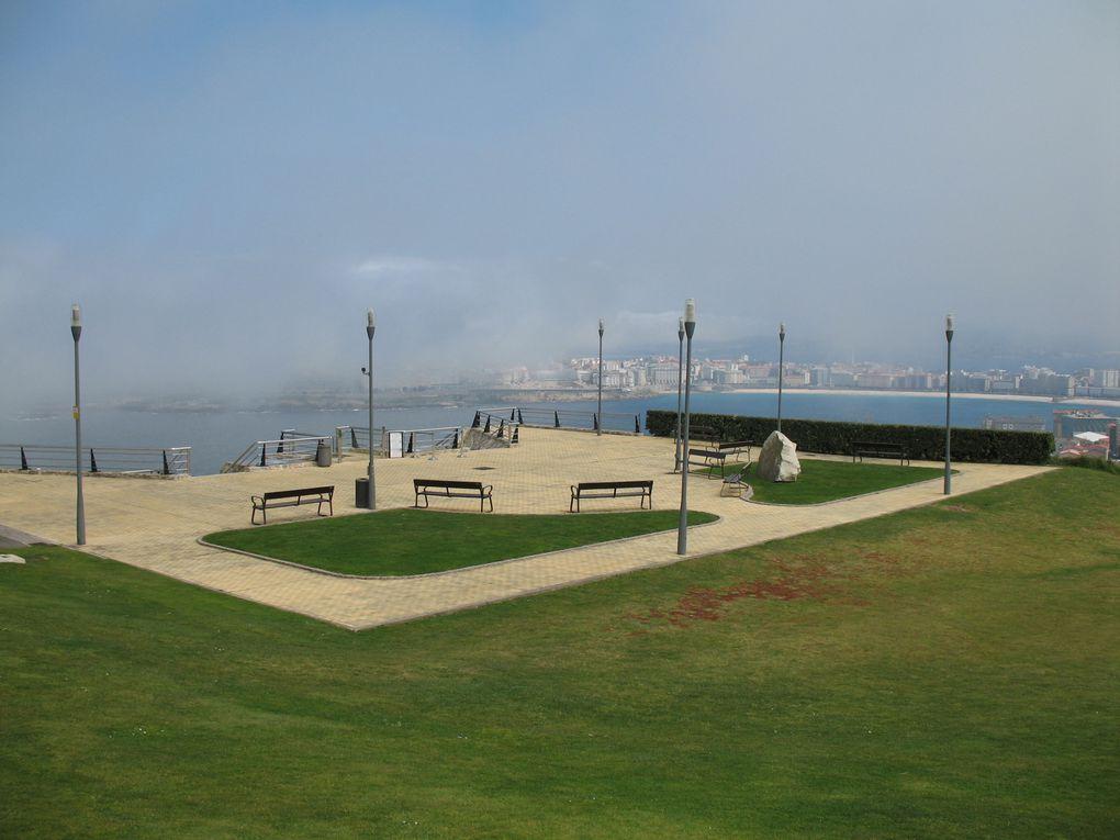 Une vue imprenable sur la ville... enfin sauf quand il y a de la brume ou du brouillard...
