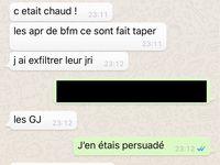 Gilets Jaune: Quand BFM TV assure la protection de ces journalistes ... par des APR au black [ A grande échelle !]