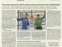 """Tour de Vendée Cyclisme """"Thomas Voeckler fait le show"""""""