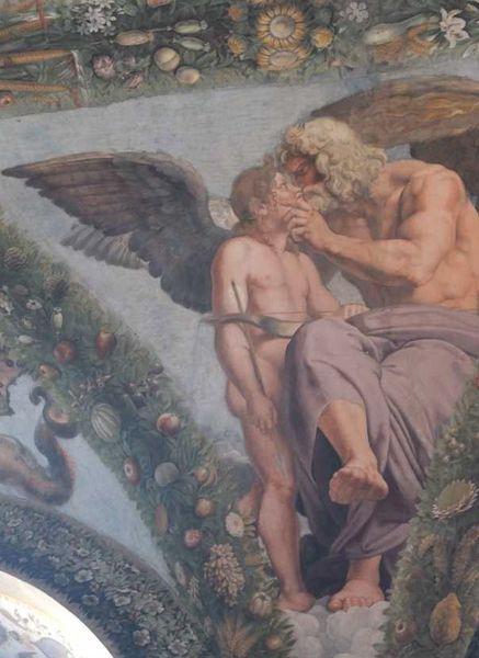 Rome - La villa Farnesina - La Loggia d'Amour et de Psyché