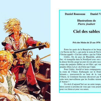 Pierre JOUBERT illustre Daniel VALIANT : Ciel des Sables