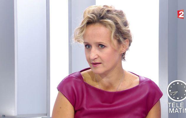 CAROLINE ROUX ce matin @France2tv pour LES 4 VERITES @telematin #vuesalatele
