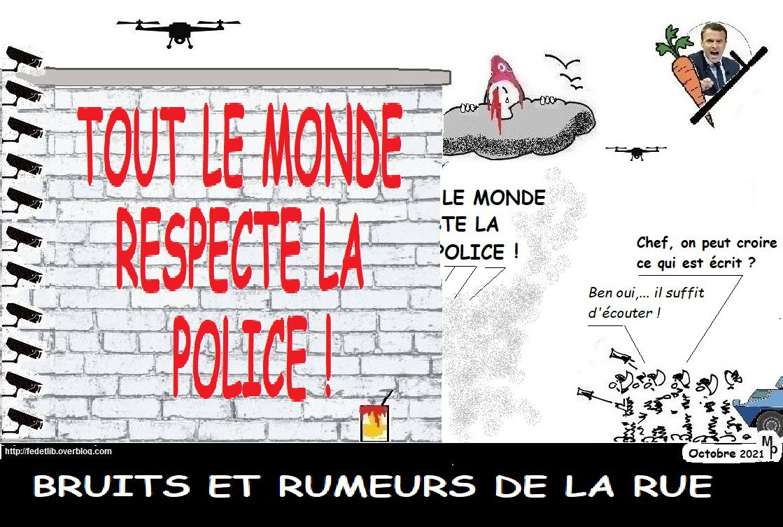 RESPECT DE LA POLICE